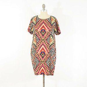 Mara Hoffman Colorful Geometric Print Dress